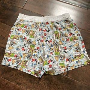 Disney Parks Comic Strip Boxer Shorts Adult Small